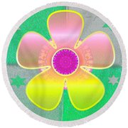 All In Part Two Round Beach Towel