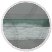 All Rolled Up Round Beach Towel