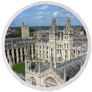All Souls College Round Beach Towel