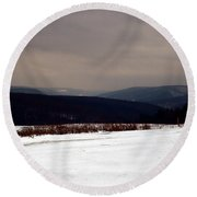 Allegany Highlands Round Beach Towel