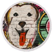 Alley Colors Round Beach Towel