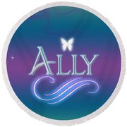 Ally Name Art Tote Bag for Sale by Becca Buecher
