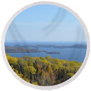 Almost Canada Round Beach Towel