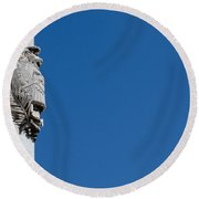 Altar Of The Fatherland Round Beach Towel
