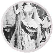 Alva Vanderbilt (1853-1933) Round Beach Towel