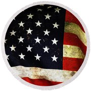 Always Proud Round Beach Towel