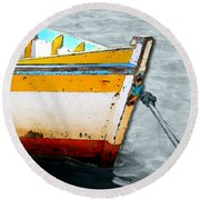 Amarras Round Beach Towel