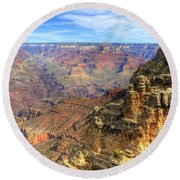Amazing Colors Of The Grand Canyon  Round Beach Towel