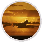 Amazing Grace Round Beach Towel