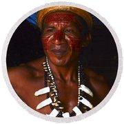 Amazon South America 3 Round Beach Towel