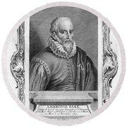 Ambroise Pare (1517?-1590) Round Beach Towel