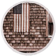 American Colors Of Maine Round Beach Towel
