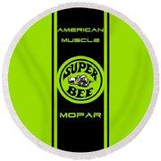 American Muscle - Mopar II Round Beach Towel
