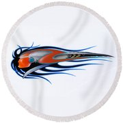 American Sprit  Round Beach Towel by Alan Johnson