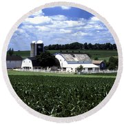 Amish Country - 38 Round Beach Towel