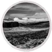 An Teallach Round Beach Towel