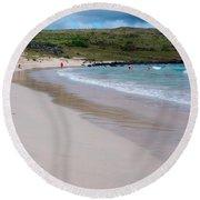 Anakena Sand Round Beach Towel