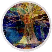 Ancestral Place  Round Beach Towel