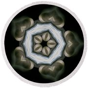 Ancient Light I Round Beach Towel