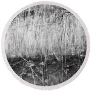 Ancient Sagebrush 2 Round Beach Towel