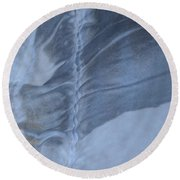 Ancient Upholstery Round Beach Towel