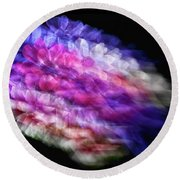 Anemone Abstract Round Beach Towel