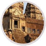 Angkor Wat 03 Round Beach Towel