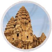 Angkor Wat 04 Round Beach Towel