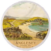 Anglesey Round Beach Towel