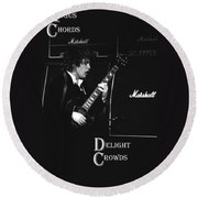 Angus Chords Delight Crowds Round Beach Towel
