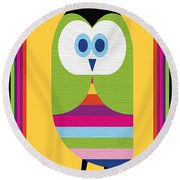 Animal Series 5 Round Beach Towel
