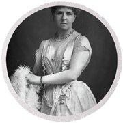 Anna Williams (1845-1924) Round Beach Towel