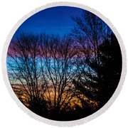 Another Beautiful Morning Round Beach Towel
