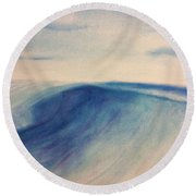 Another Wave Round Beach Towel