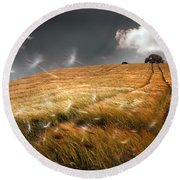 Another Windy Day Round Beach Towel