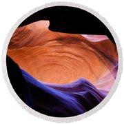 Antelope Canyon - Page Az Round Beach Towel