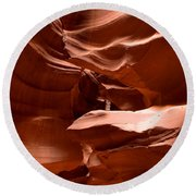Antelope Canyon 1 Round Beach Towel