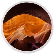 Antelope Canyon 11 Round Beach Towel