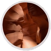 Antelope Canyon 12 Round Beach Towel