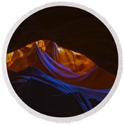 Antelope Canyon 19 Round Beach Towel