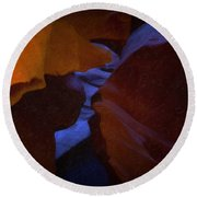 Antelope Canyon 36 Round Beach Towel