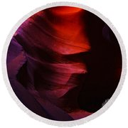 Antelope Canyon 24 Round Beach Towel