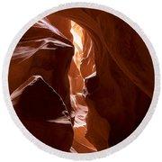 Antelope Canyon 4 Round Beach Towel