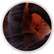 Antelope Canyon 27 Round Beach Towel