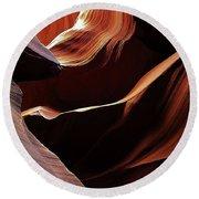 Antelope Canyon 7 Round Beach Towel