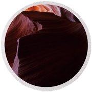 Antelope Canyon Sandstone Magic Round Beach Towel