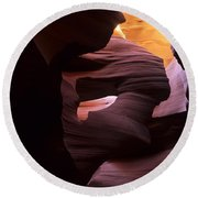 Antelope Canyon Touch Of Magic Round Beach Towel