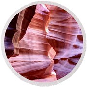 Antelope Canyon2 Round Beach Towel