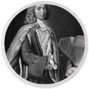 Anthony Askew (1722-1774) Round Beach Towel
