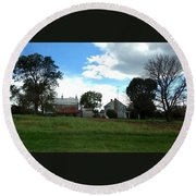 Antietam Battlefield Round Beach Towel